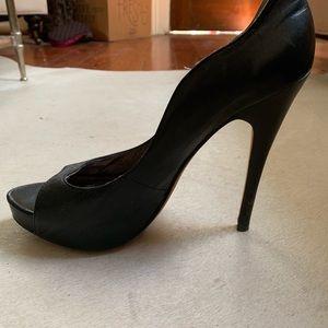 Charles David curvy stiletto heels